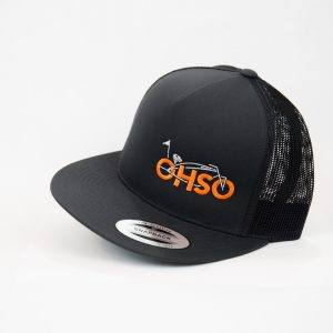 O.H.S.O. Hat Black/Black side