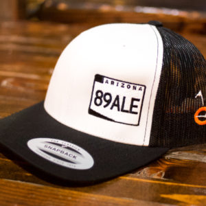 89Ale Black on White